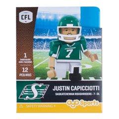 OYO CFL Series 1 Gen 2 Justin Capicciotti Saskatchewan Roughriders Minifigure