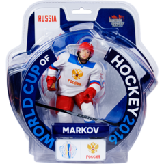 "Imports Dragon World Cup of Hockey Andrei Markov Russia 6"" Figure"