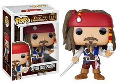 Funko Pop! Disney: Pirates of the Carribean - Captain Jack Sparrow #172
