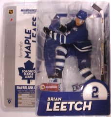McFarlane NHL Series 9 Brian Leetch Toronto Maple Leafs