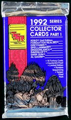 TSR 1992 Series Collector Cards Part 1, 16 Fantasy Cards Limited Edition