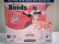 McFarlane MLB Collectors Edition Barry Bonds 756 Home Run Champion San Francisco Giants