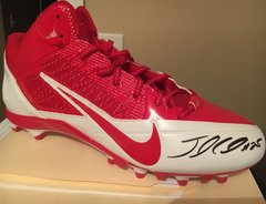 Jamal Charles - Autographed size 13 cleat