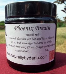 Phoenix Breath Muscle Rub