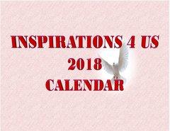 2018 Inspirations 4 US Wall Calendar