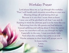 Workday Prayer Magnet