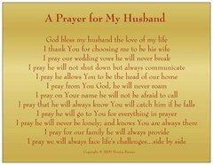 Husband Prayer Magnet
