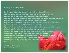 Wife Prayer