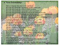 A New Friend postcard