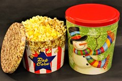 2 Gallon Decorative Tin