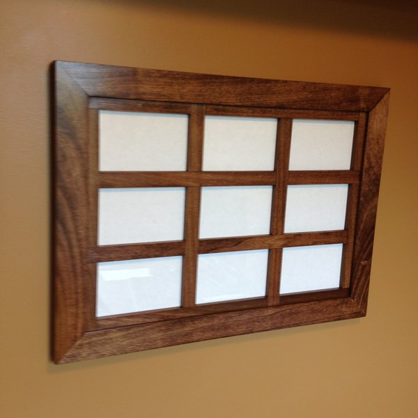 custom windowpane collage frame for 4x6 pictures - Windowpane Picture Frame