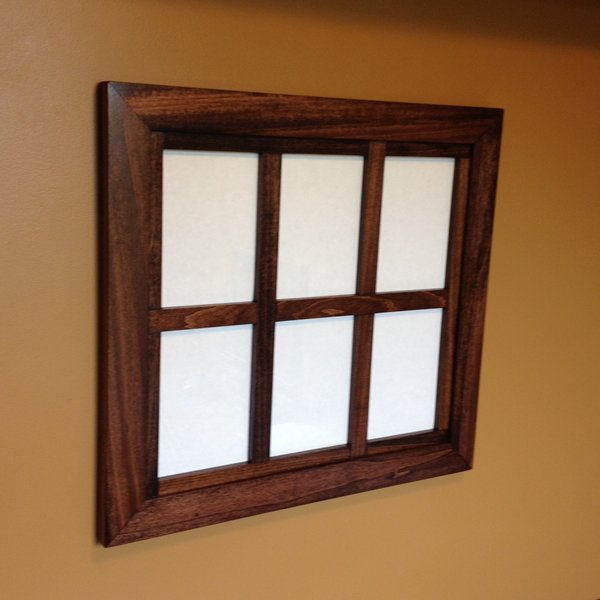 Custom Windowpane Collage Frame for 5X7 | ZimWoodworking - Handmade ...