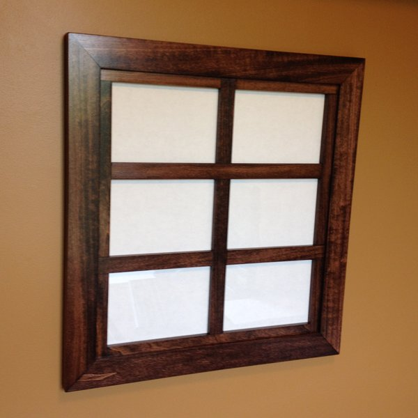 custom windowpane collage frame for 5x7 pictures - Window Pane Picture Frame