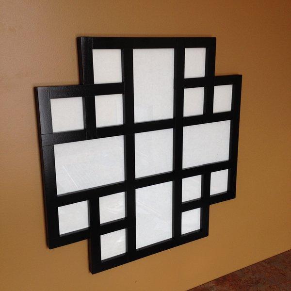 collage frame black - Multiple Picture Frame