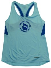 W Patagonia Fore Runner Tank- Turquoise