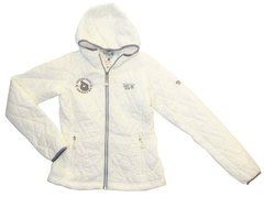 *MOUNTAIN HARDWEAR WOMEN'S THERMOSTATIC HOODED JACKET-SEA SALT