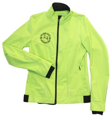 W Brooks Silver Bullet Jacket- Bright Green