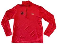 M Mountain Hardwear LS Zip Red