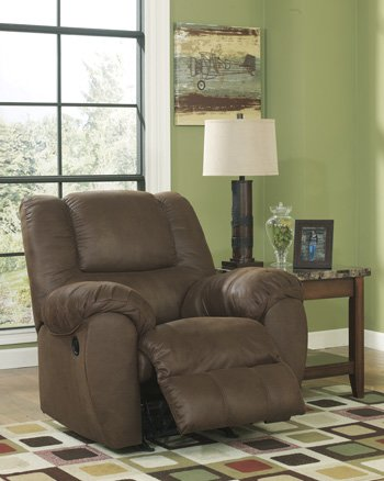 Ashley Furniture 3 Peice Reclining Sofa Love With Console and