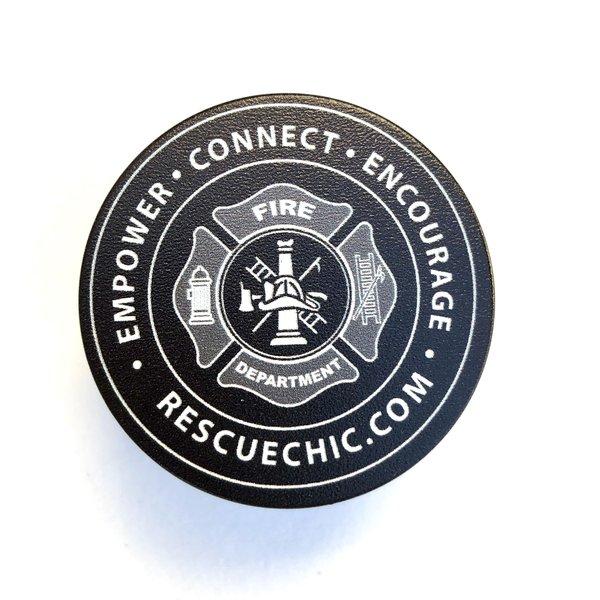 Maltese Cross Firefighter PopSocket