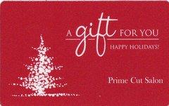 CHRISTMAS GIFT CARD - $25