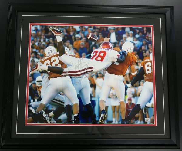 Roy Williams Superman Play Autographed And Framed Picture