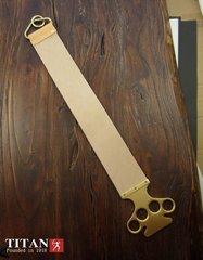Professional Full Grain Leather Straight Razor Strop TITAN WM0022