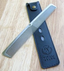 Professional Stainless Steel Comb. 21cm long, 40g weight WM0019