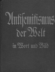 """Anti-jewish book """"Antisemitismus der Welt"""""""