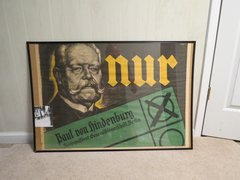Hindenburg Election poster 1932