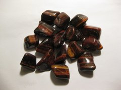 1 lb. Red Tiger Eye Tumbled Stones