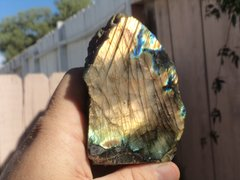 Flashy Labradorite Piece