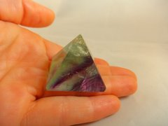 Fluorite Pyramid