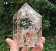 Polished Rutile Quartz Point