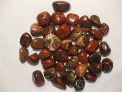 1 lb. Brechiated Jasper Tumbled Stones