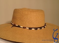 Twisted Bead Hat Trim