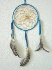 Dream Catchers 4 Inch Turquoise