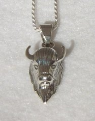 Buffalo Jewelry in Sterling Silver