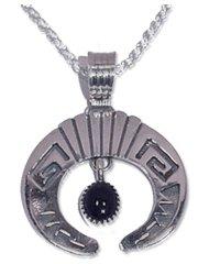 Onyx Jewelry - Naja Cresent Pendant