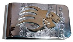 Bear Claw - with 12K Gold Fill - Money Clip