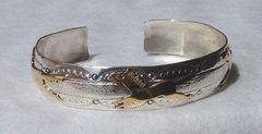 Sterling Silver -12K Gold - Filled Horses - Bracelet