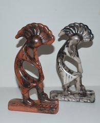 Horse Hair Kokopelli Ceramic - NOW 50% OFF