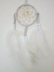 3 Inch- Dream Catcher - All White Dream