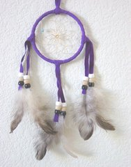 Dream Catcher 3 Inch Purple