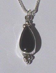 Onyx Teardrop Jewelry