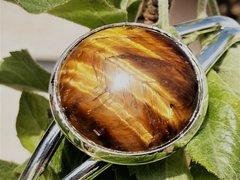 Sterling Silver -Tiger Eye - Bracelet