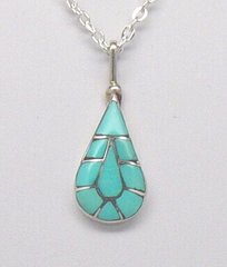Turquoise Inlaid Jewelry Made in America