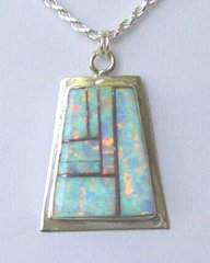 Opal Jewelry - Inlay Pendant 50% OFF