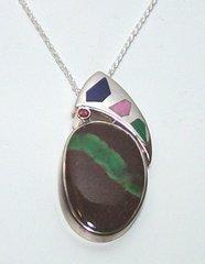 Mahogany Jasper Jewelry with Aventurine
