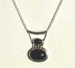 Onyx Jewelry | Pendant with Chain
